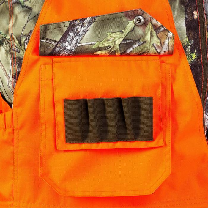 Vest Renfort 500 voor de jacht fluo camo - 820508