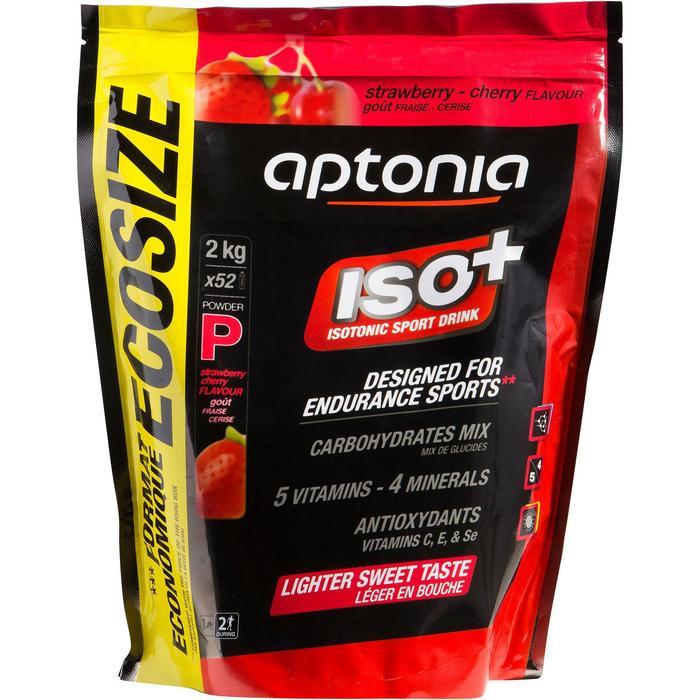 Boisson isotonique poudre ISO+ fraise cerise 2kg - 820607