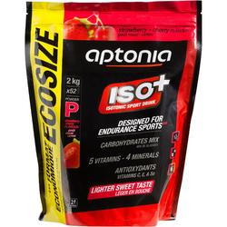 Poeder voor isotone dorstlesser ISO+ aardbei/kers 2 kg