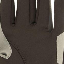 Warme rijhandschoenen Easywear voor kinderen - 820610