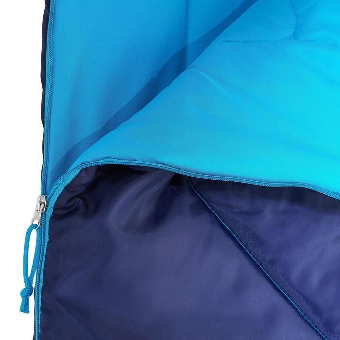 Sac de couchage de bivouac / randonnée / trek FORCLAZ 10° zip droit - 820636