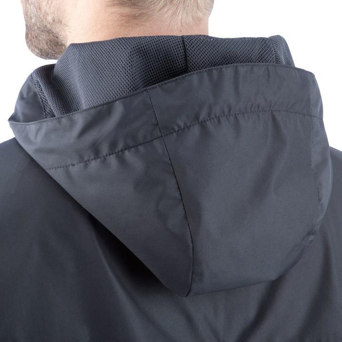 Veste pluie imperméable de football adulte T500 noire - 820941