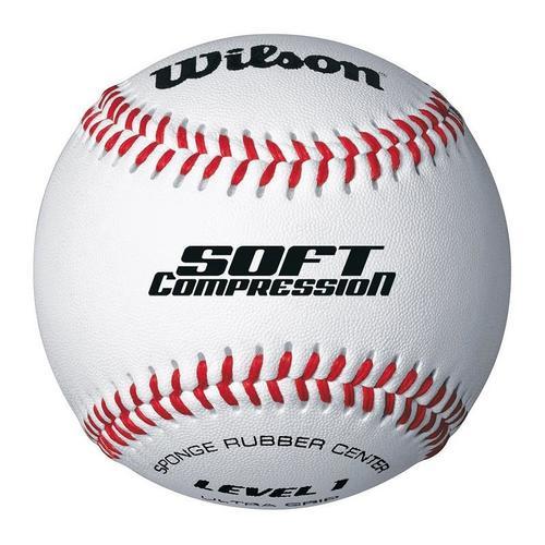 Balle Baseball Wilson Soft Compression