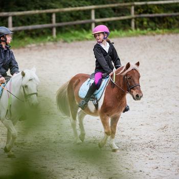 Casque équitation SAFETY CABRIOLE rouge et - 821184
