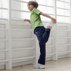 Pantalón S500 Gimnasia niño negro Gym'y