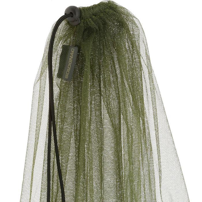 Moskitonetz grün zum Überziehen über eine Mütze (Mütze nicht enthalten)