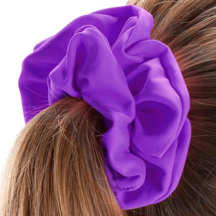 Chouchou de natation cheveux fille violet