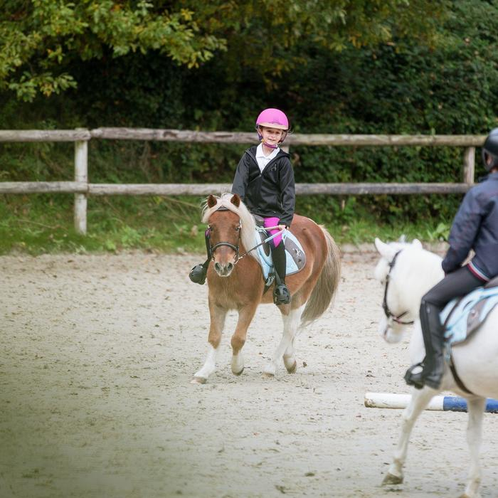 Casque équitation SAFETY CABRIOLE rouge et - 821579