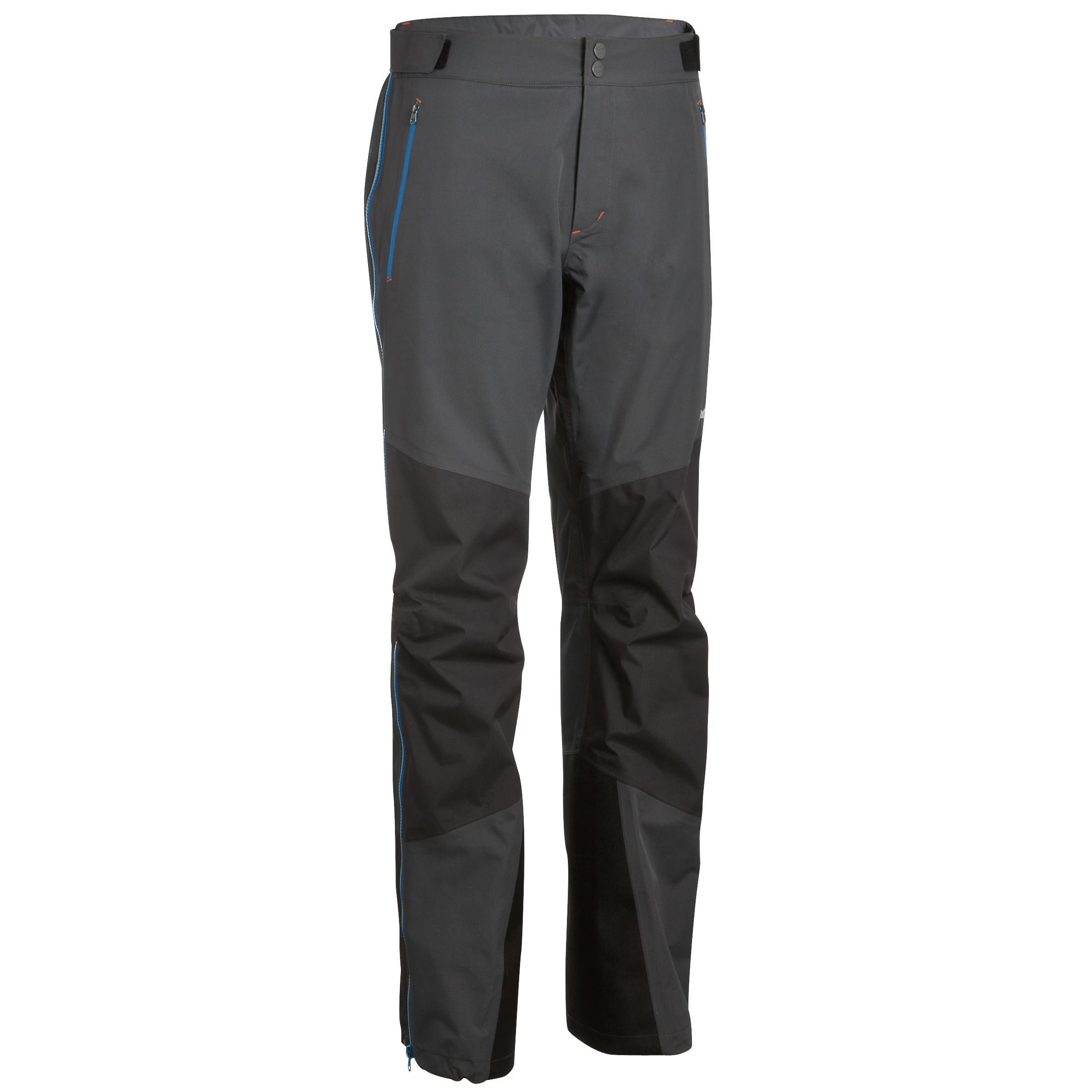 Men's Mountaineering Top-Layer Pants - Grey