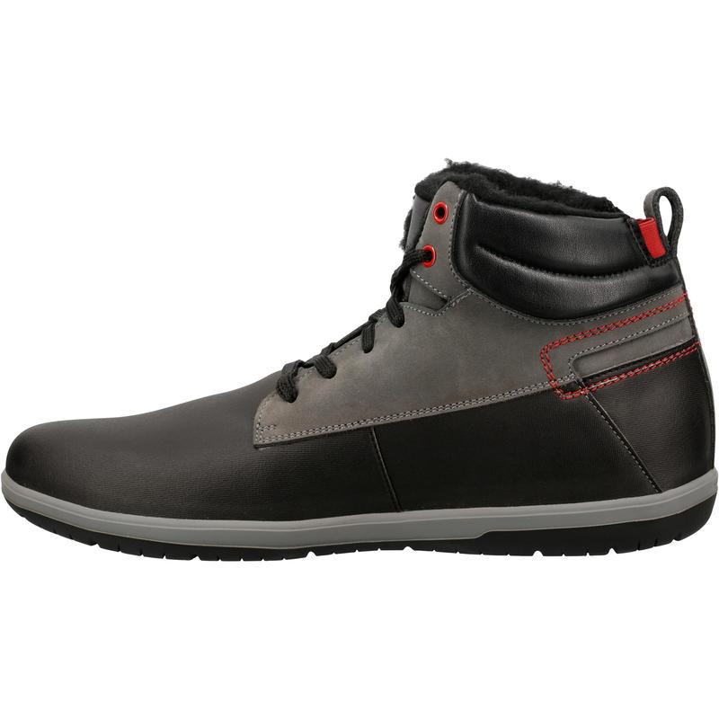Flow Resist Winter men's everyday walking shoes - black/grey.