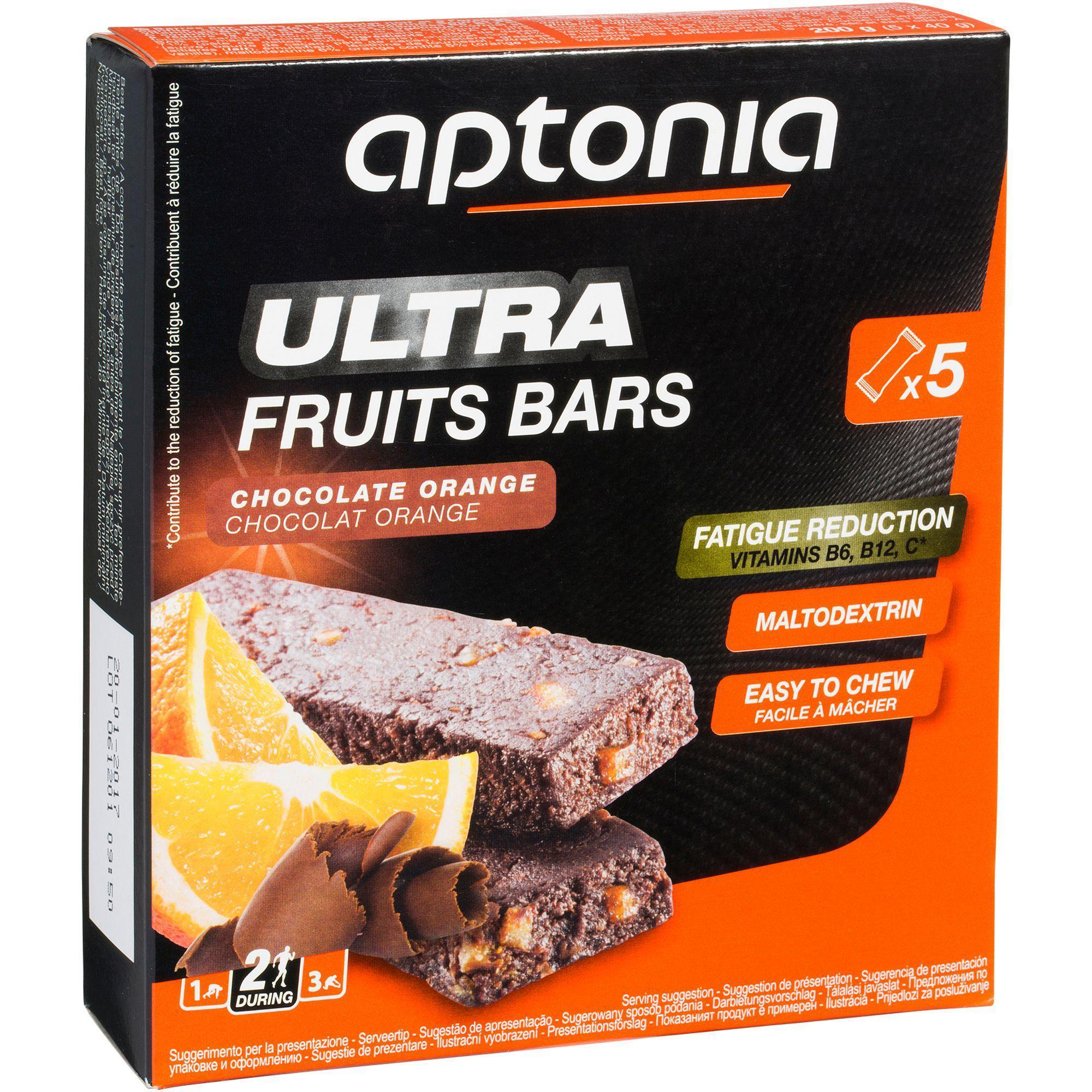 Aptonia Energiereep Ultra Bars sinaas chocolade 5x 40 g