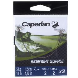 Avançon pêche carnassier RESIFIGHT souple 5 KG