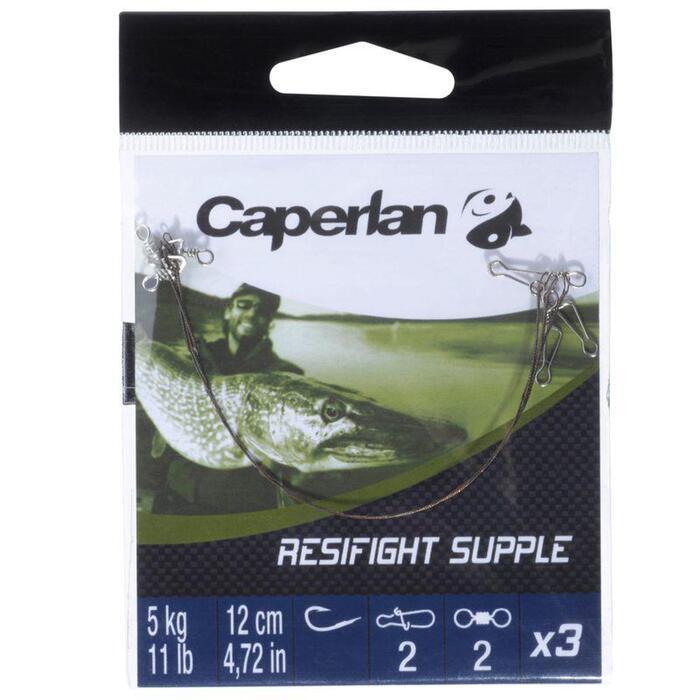 Avançon pêche carnassier RESIFIGHT souple 5KG - 821671