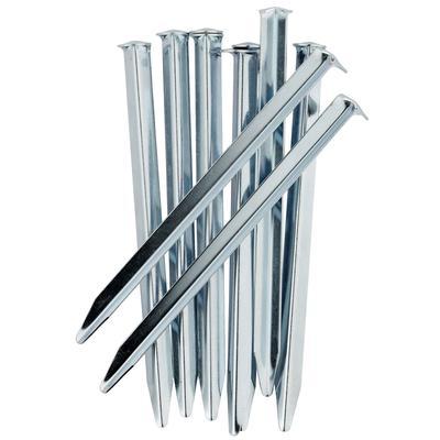أوتاد خيمة: فولاذ ×10 سم