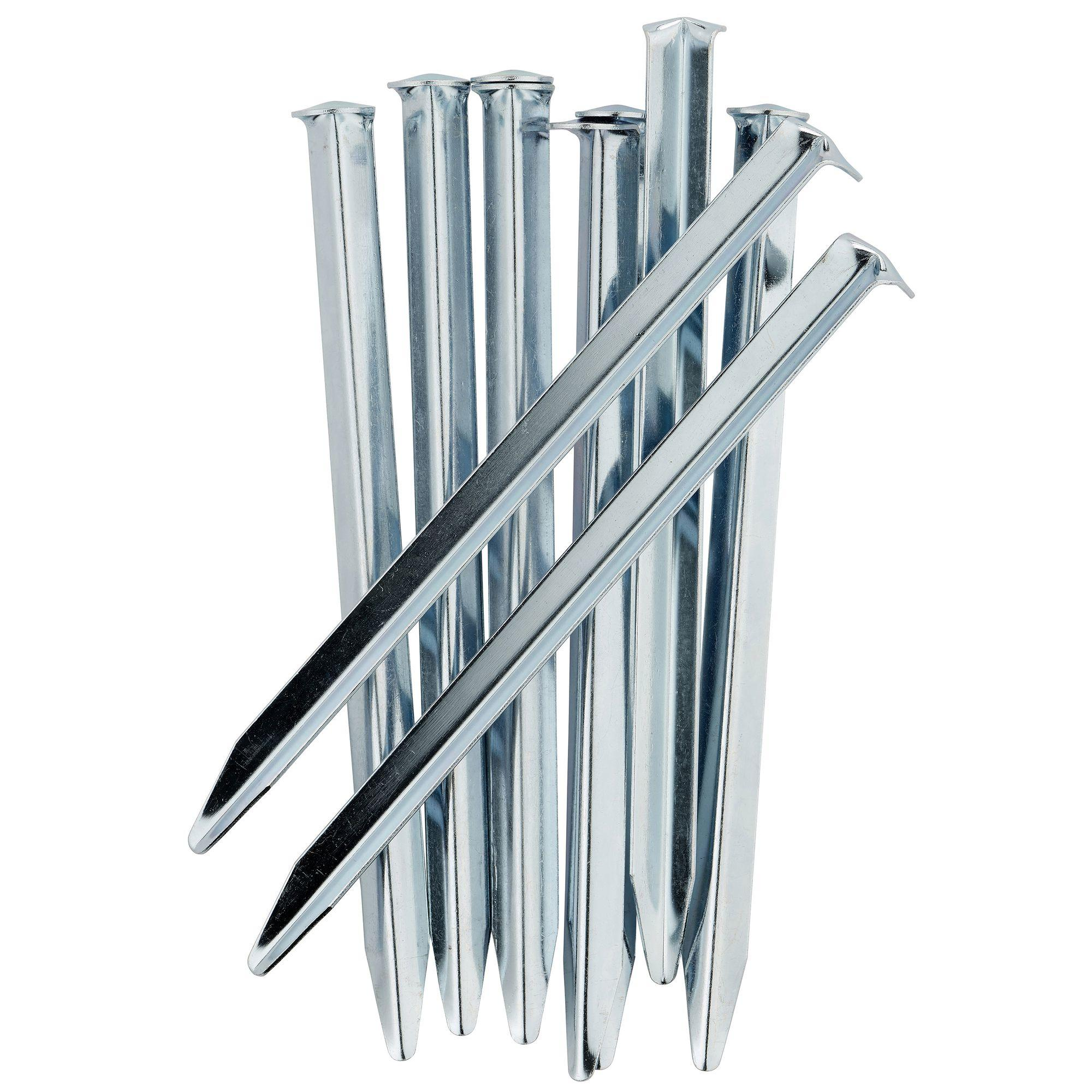 Corner tent pegs: for loose ground (x10)