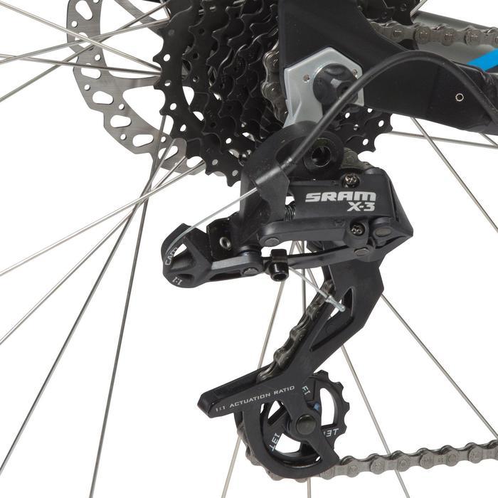 """Mountainbike MTB Rockrider 520 27,5"""" schwarz"""