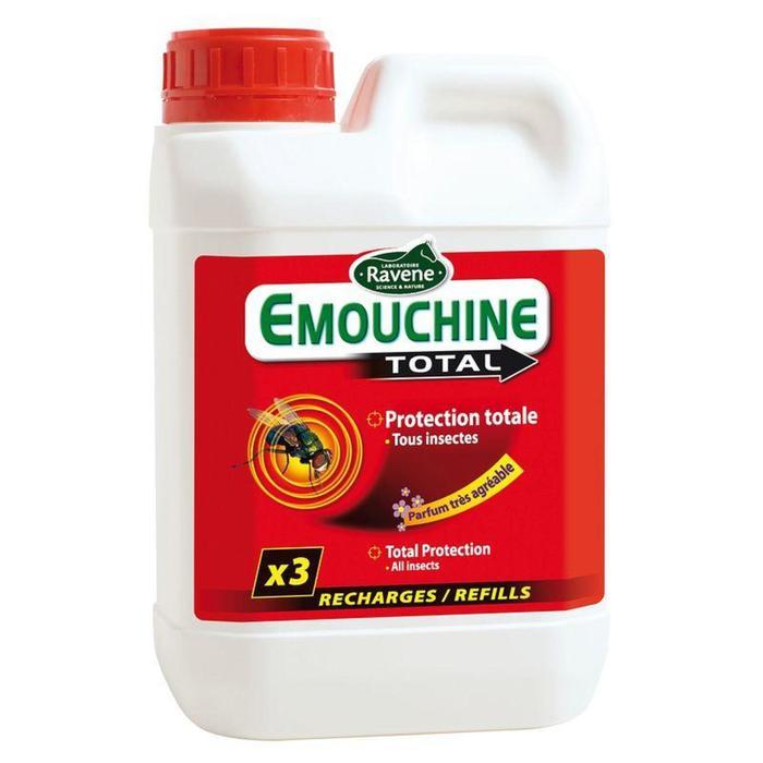 Navulling insectenwerend middel paarden/pony's Emouchine Total ruitersport 1,5 l