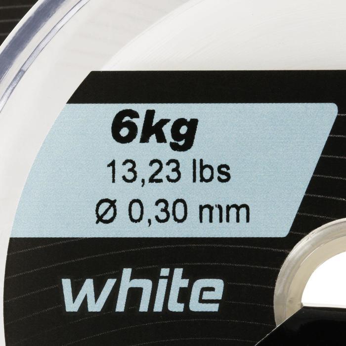 FIL DE PÊCHE LINE ABRASION WHITE 1000 M - 822342