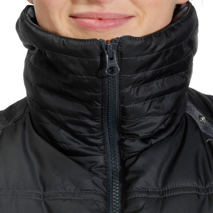 Gilet doudoune sans manche équitation femme PADDOCK noir - 822744