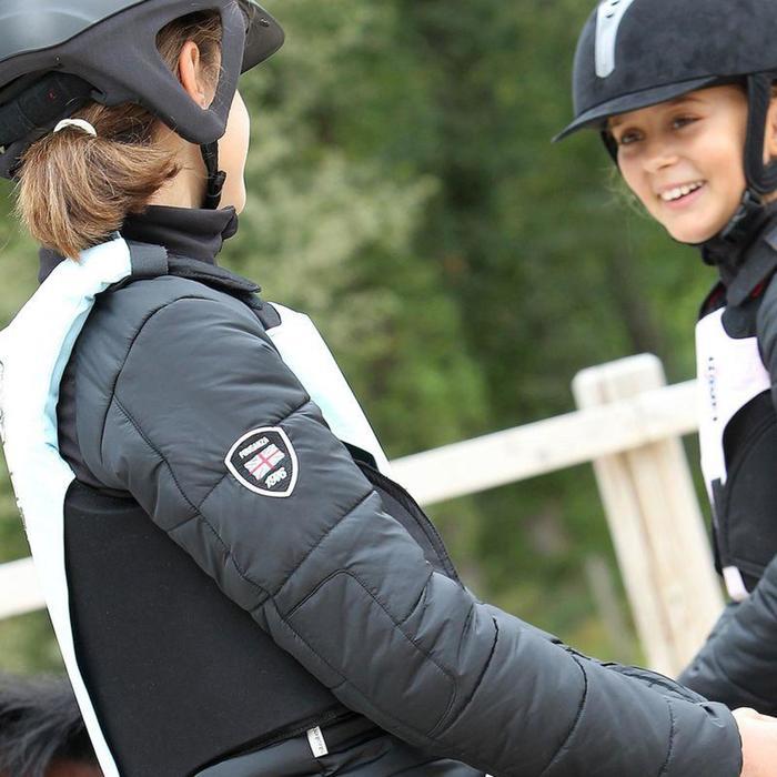 Veste équitation enfant SAFY noir - 822752