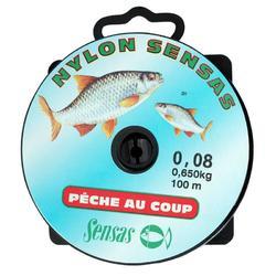 Vislijn voor roofvissen Sensas voor vaste lijn 100 m