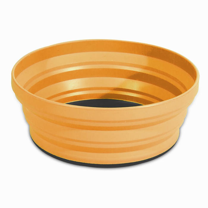 Compact trekking bowl X-BOWL 0.65 litres orange