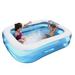 Rechthoekig opblaasbaar zwembad Bestway 201*150 - 823131