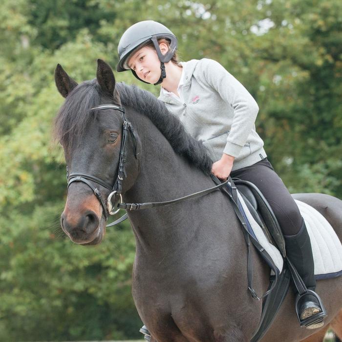 Sweat equitation enfant HORSE chiné - 823174
