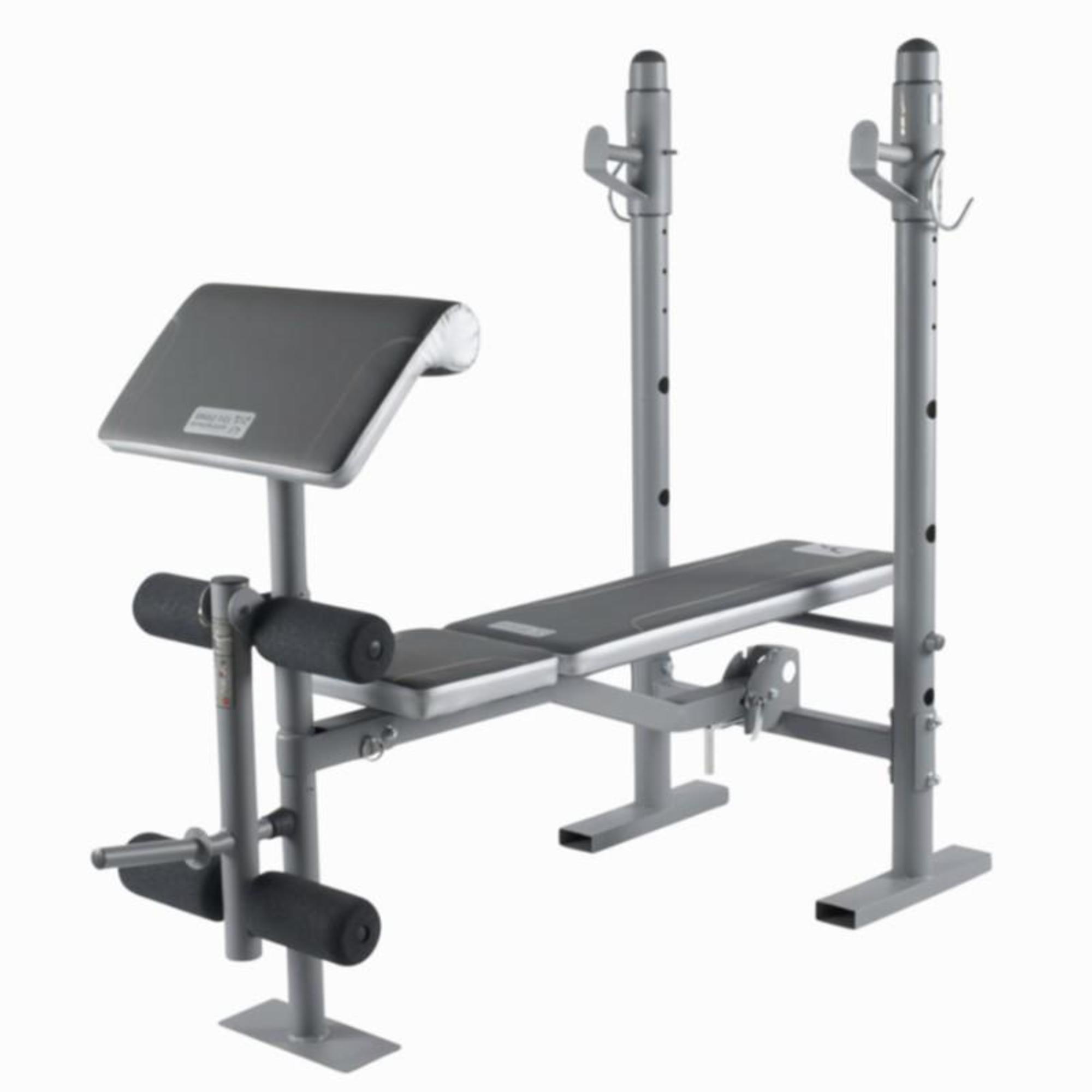 Bm210 Weights Bench Domyos By Decathlon