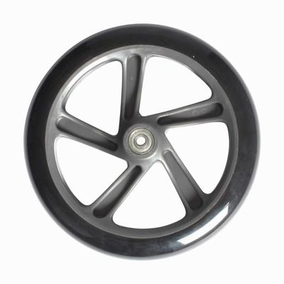 1 grande roue de trottinette adulte 200 mm