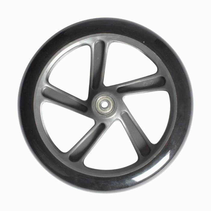 Single large wheel for adult scooter - 200 mm - 823241