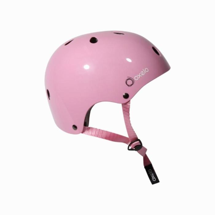 Play Inline Skating, Skateboarding, Scootering and Cycling Helmet - Pink - 823252