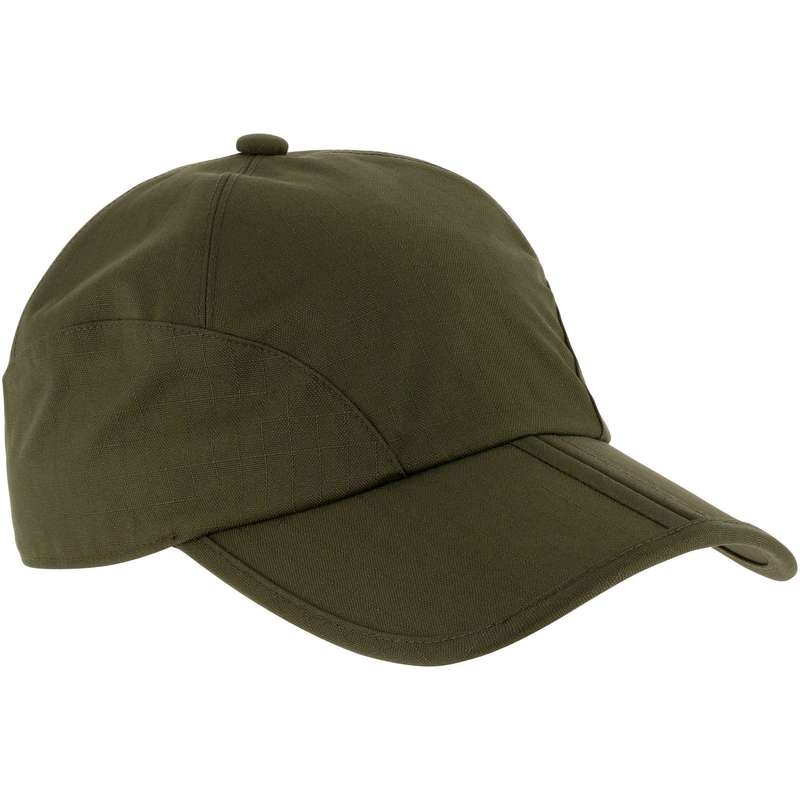 CAPS/HATS - Foldable Waterproof cap - Green SOLOGNAC