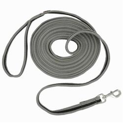 Horse riding Soft Work Leadrope - Grey/Black