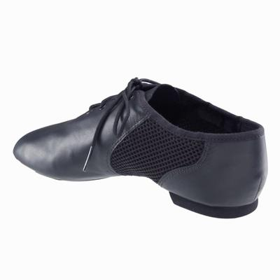 Chaussure danse moderne Jazz low mesh noir