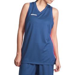 Basketbalshirt B500 mouwloos dames - 823595