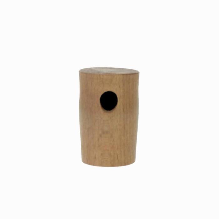 Houten lokfluit voor houtduif
