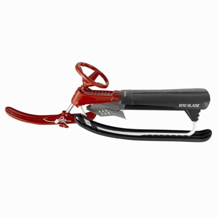 Luge enfant biplace avec frein Snowblade noir - 823799