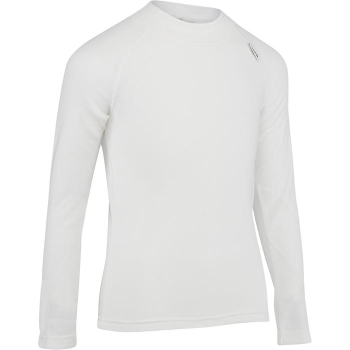 SOUS-VÊTEMENT DE SKI ENFANT SIMPLE WARM BLANC