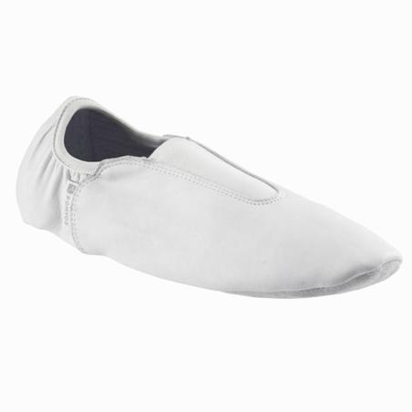 Split Sole Leather Artistic Gymnastics Shoes - White