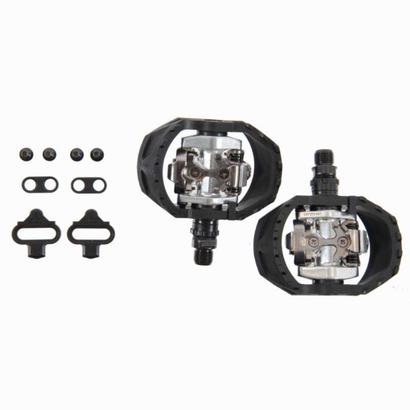 MTB PEDALS & CLEATS - M424 Clipless SPD Mountain Bike Pedals SHIMANO