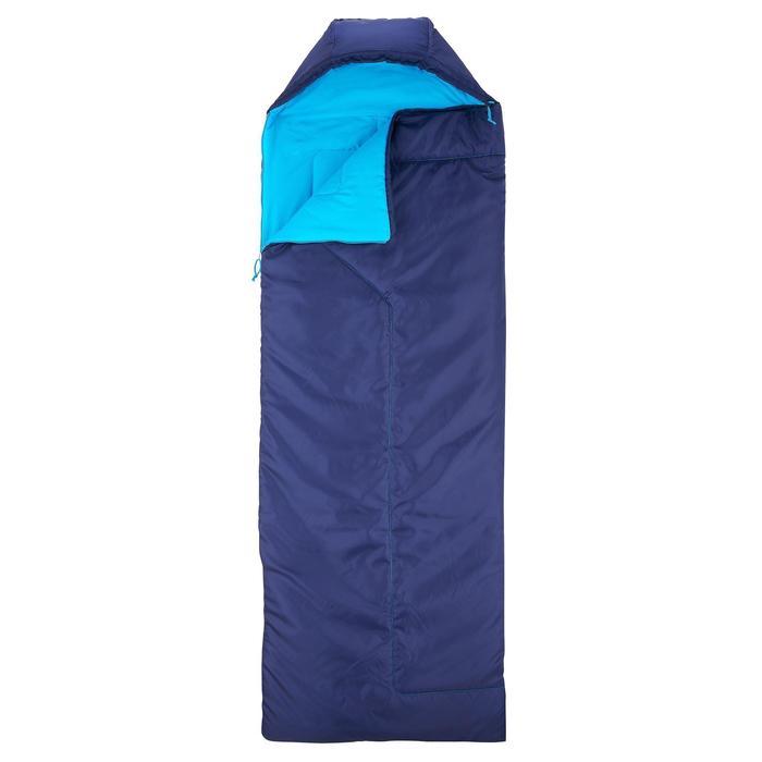 Sac de couchage de bivouac / randonnée / trek FORCLAZ 10° zip droit - 824365