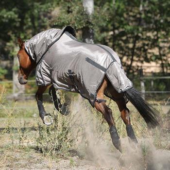 2 guêtres intégrales équitation cheval NEOPRENE noir - 824686