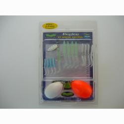 Set softbaits voor zeevissen Ballrag