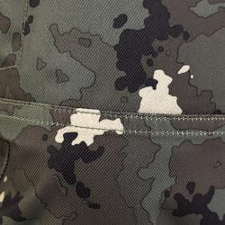 Warme waterdichte broek voor de jacht 500 groen met Island-camouflage