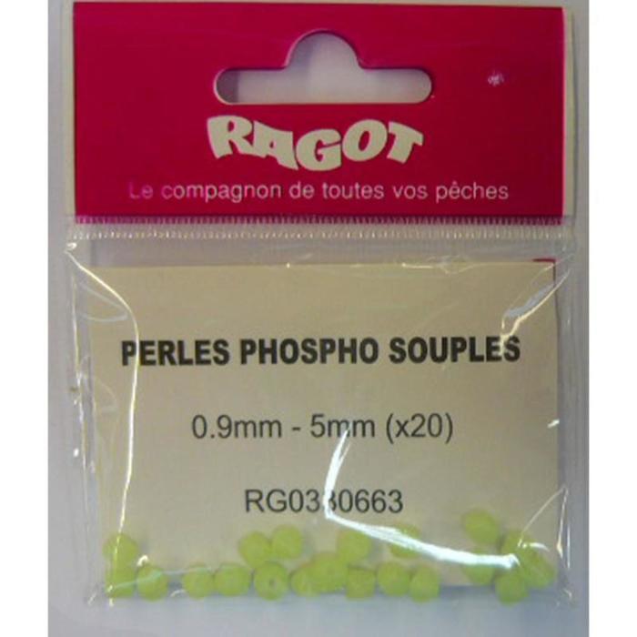 Perlen weich phosphoreszierend