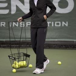 Tennisballenmand voor coaches zwart - 825015