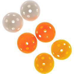 Schuimstof golfbal 6 stuks