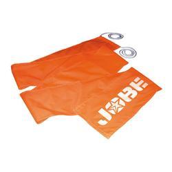 Oranje vlag Jobe voor watersporten