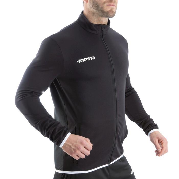Veste d'entraînement de football adulte T100 noire - 825990